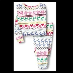Baby Gap 🎄❄️ fair isle ❄️🎄 pajamas